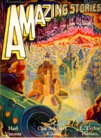 Amazing Stories  Vol 4   Pulp - Primary