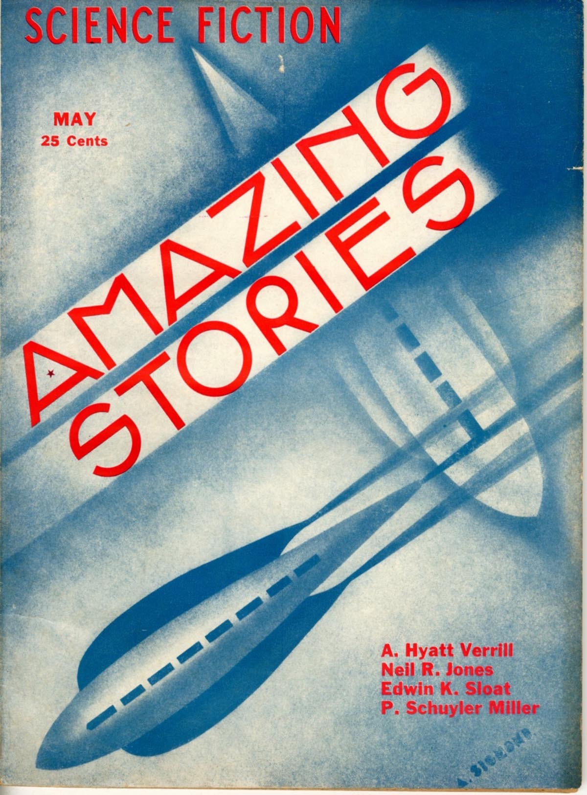 Amazing Stories  Vol 8  Pulp - Primary