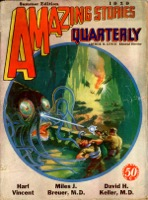 Amazing Stories Quarterly Vol 2. Pulp - Primary