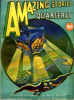 Amazing Stories Quarterly Vol 4  Pulp - Primary