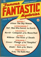 Famous Fantastic Mysteries Vol 1  Pulp - Primary