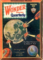 Wonder Stories Quarterly Vol 3   Pulp - Primary