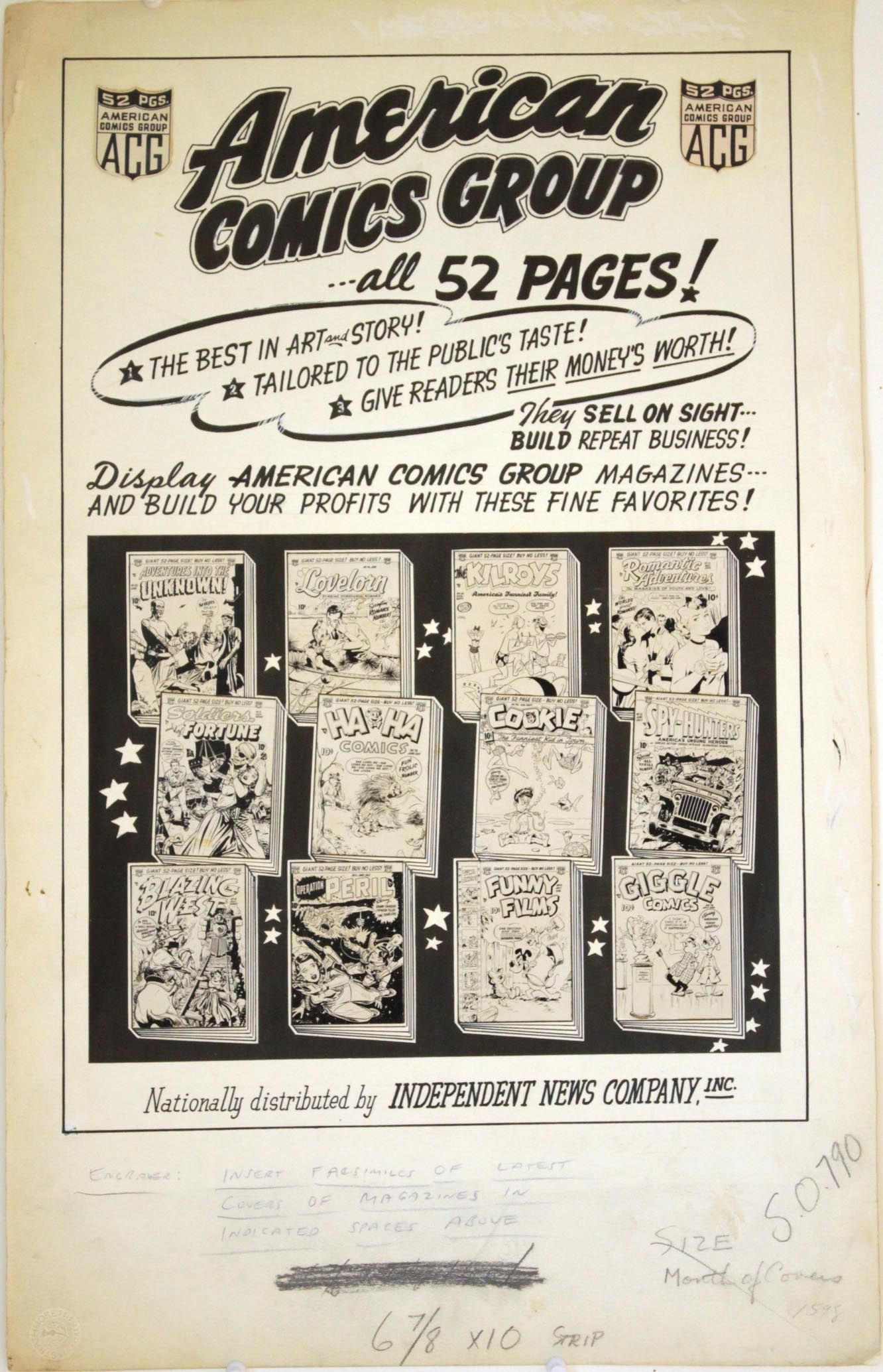 American Comic's Group Ad. - Primary