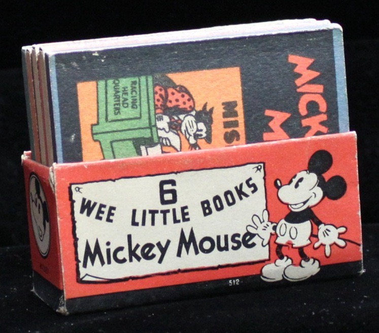 Mickey Mouse 6 Wee Little Books - Primary