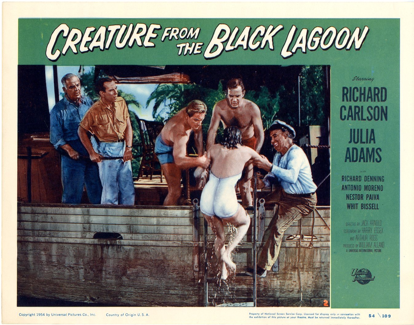 Creature From The Black Lagoon 1954 - 821