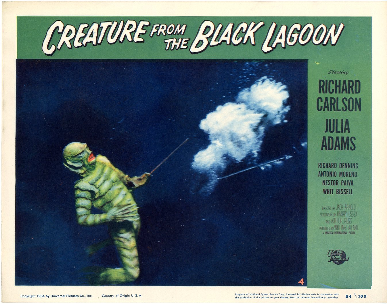 Creature From The Black Lagoon 1954 - 823