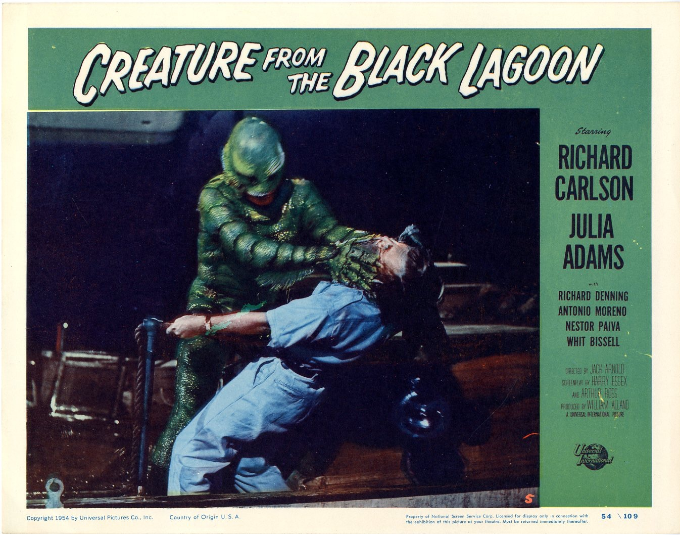 Creature From The Black Lagoon 1954 - 824