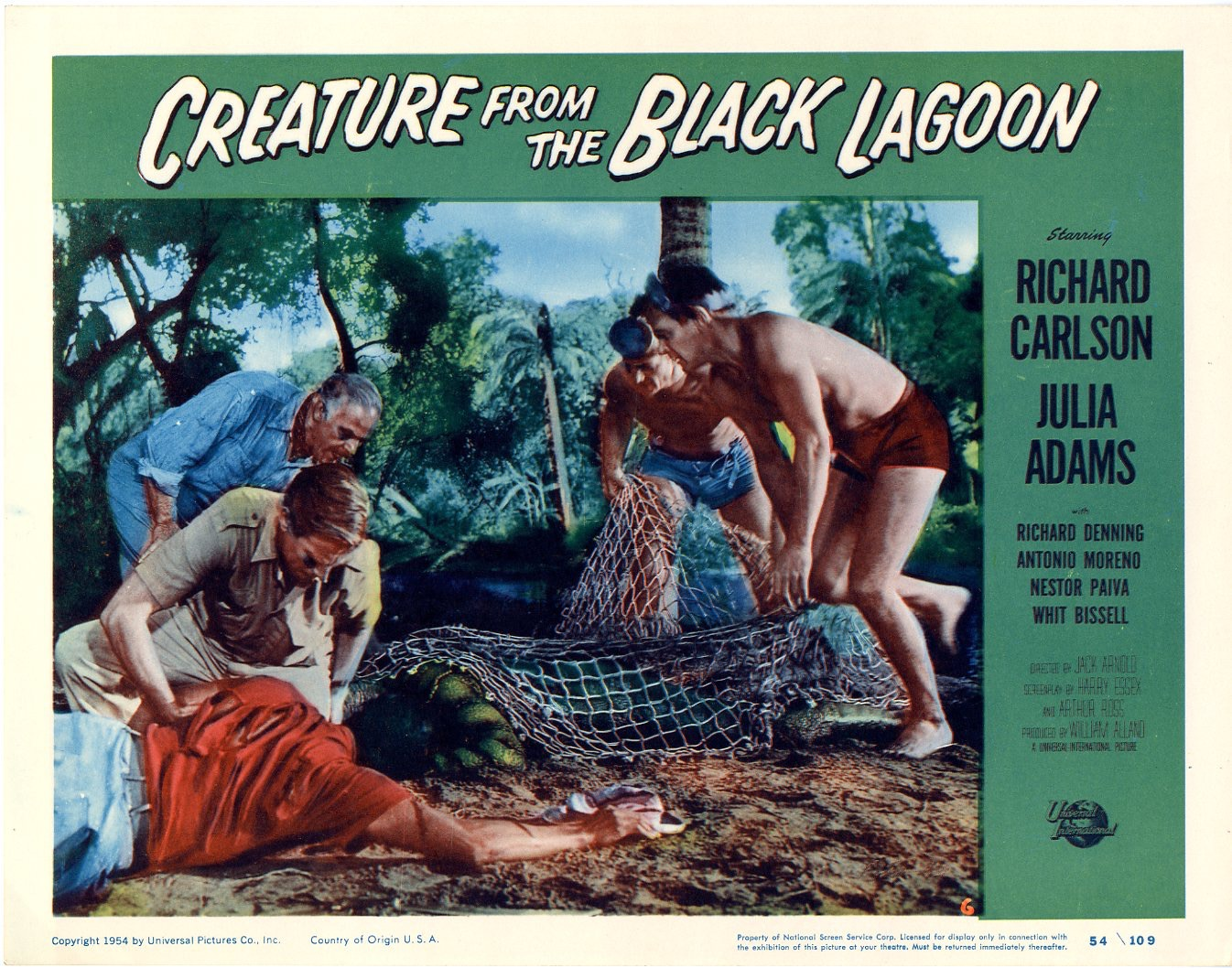 Creature From The Black Lagoon 1954 - 825