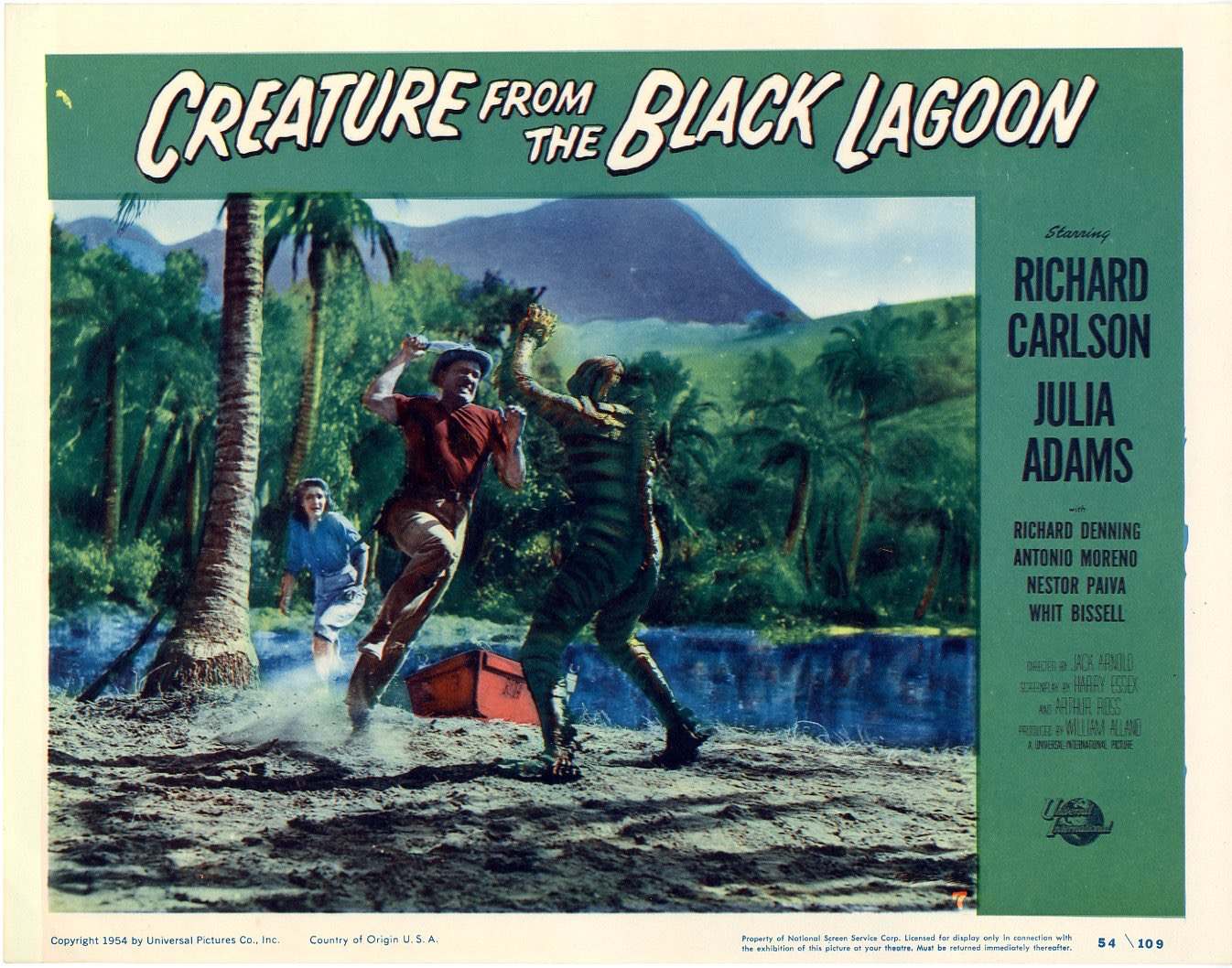 Creature From The Black Lagoon 1954 - 826