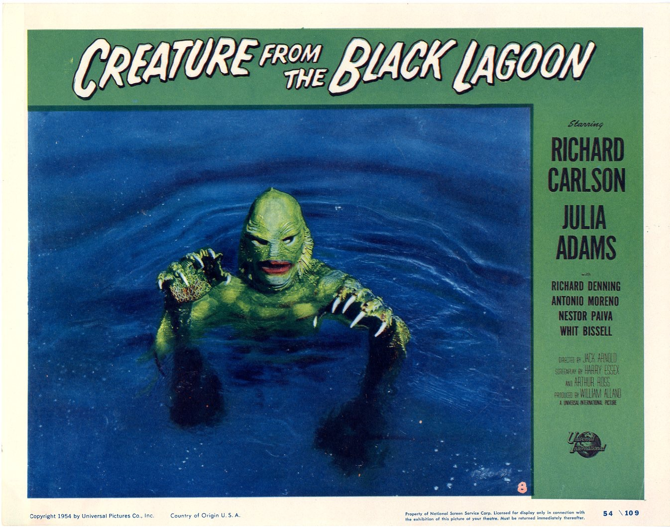 Creature From The Black Lagoon 1954 - 827