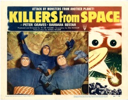 Killers From Space 1954 - Primary