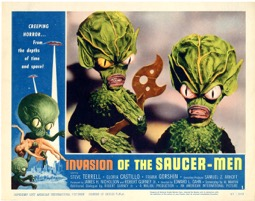 Invasion Of The Saucer Men 1957 - Primary