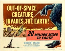 20 Million Miles To Earth   1957 - Primary