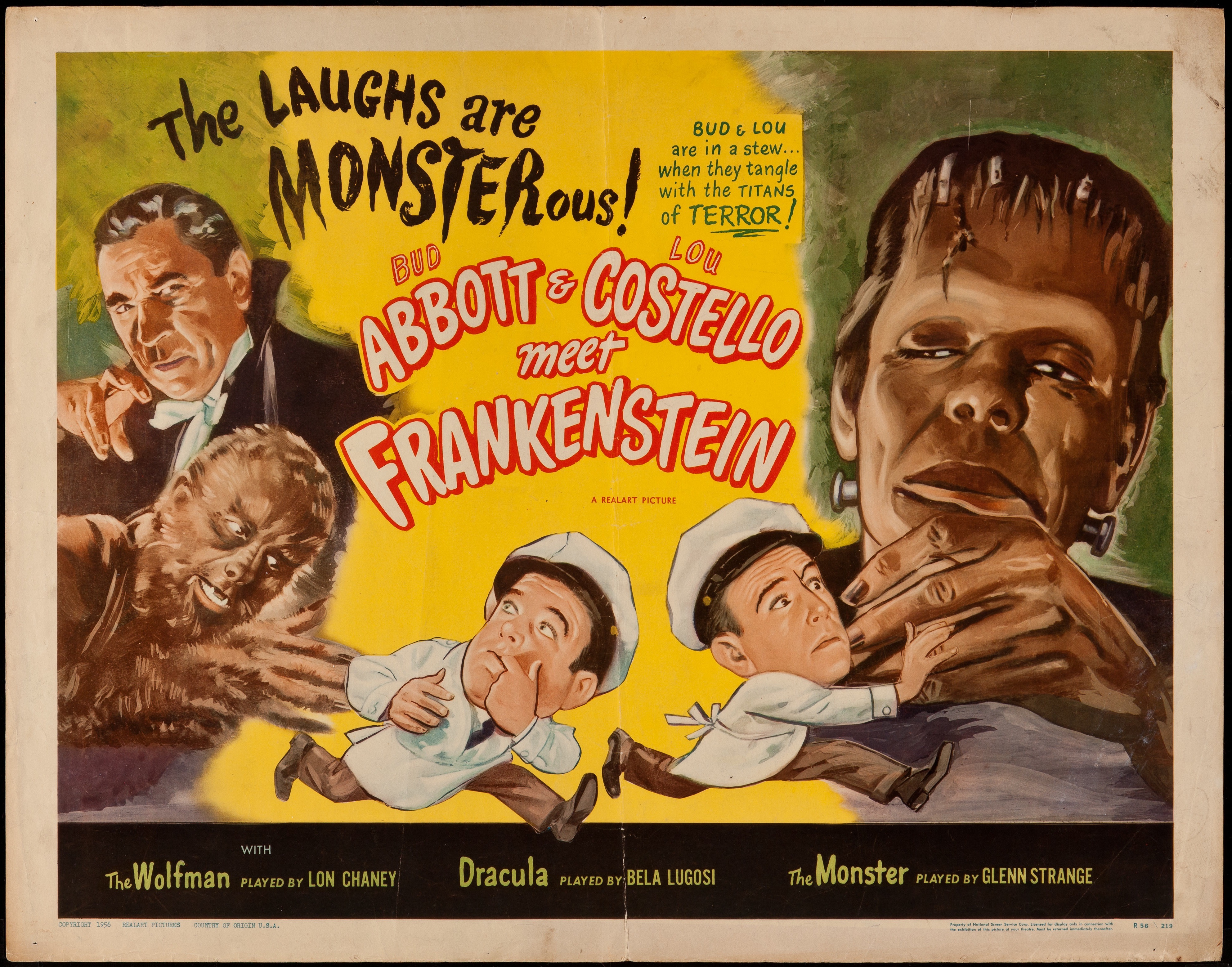 Abbott & Costello Meet Frankenstein 1948 Hs - Primary