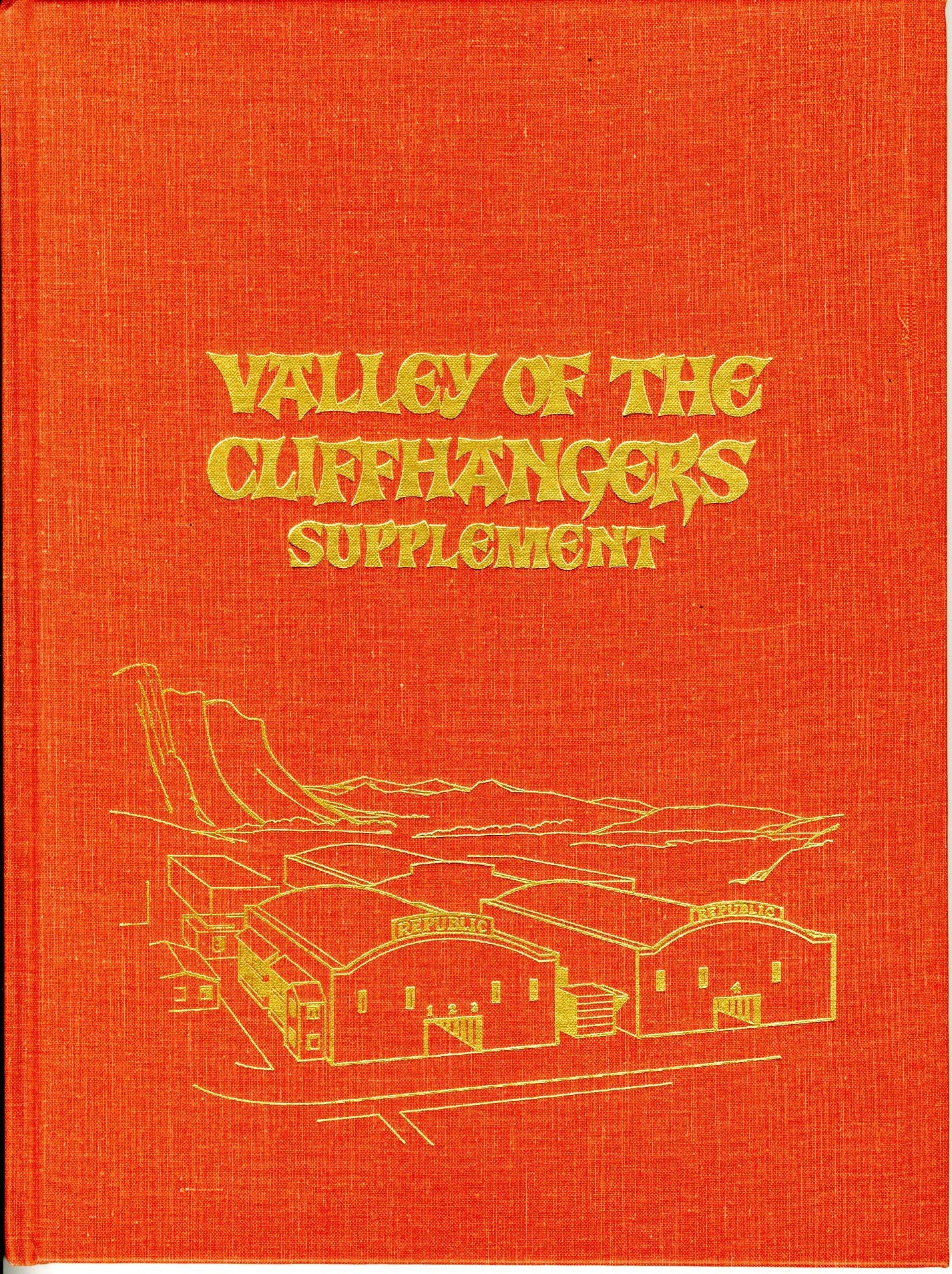 Valley Of The Cliff Hangers Movie Poster Book - 11457