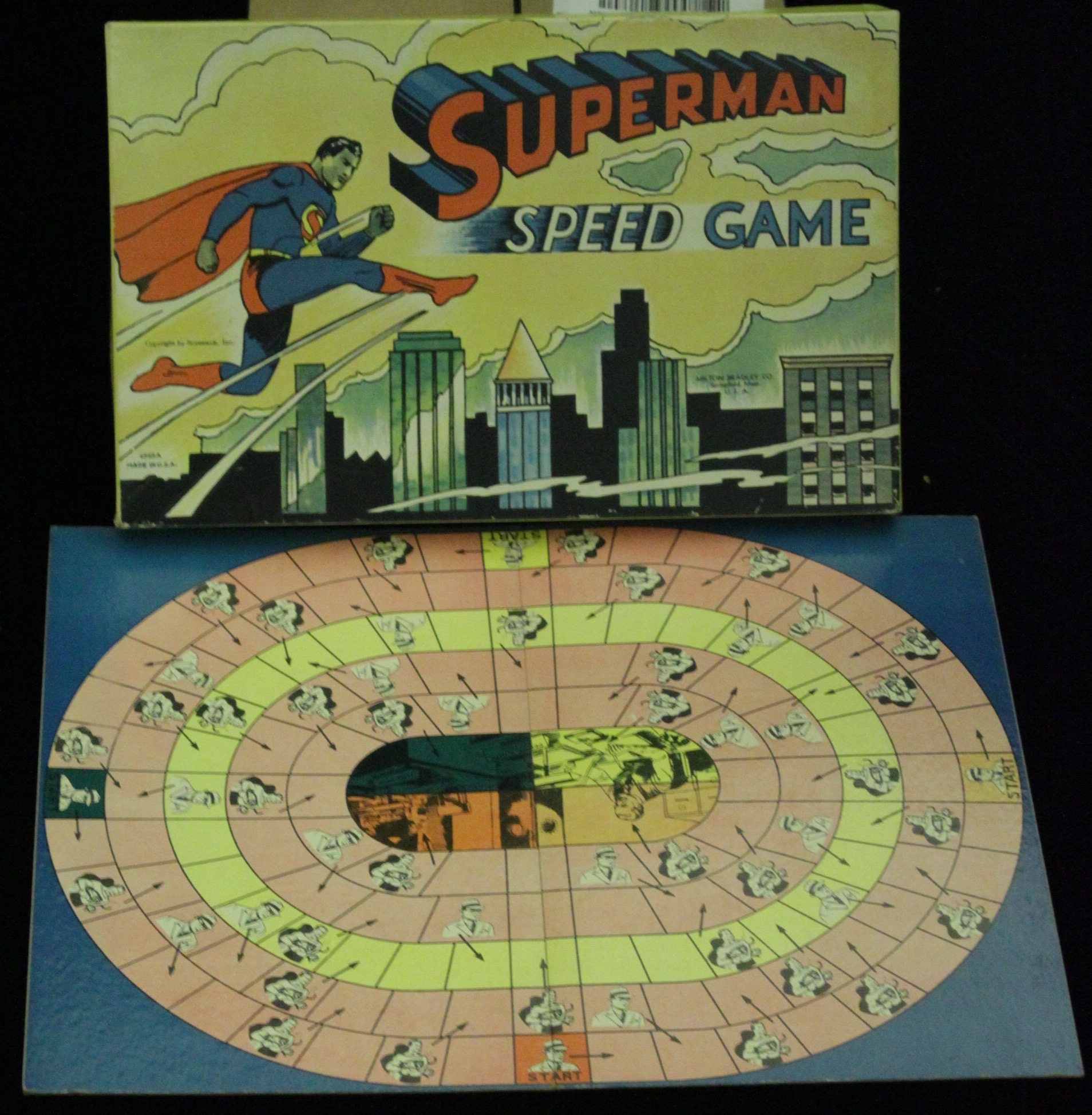 Superman Speed Game - Primary