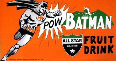 Batman All-star Fruit Drink 1966 - Primary