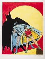 Batman Litho  Batman & Robin - Primary