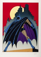 Batman Litho   - Primary