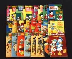 Walt Disney's Comics And Stories    Lot Of 50 Books - Primary