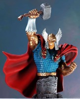 Bowen Designs Thor Battle Armor Mini Bust - Primary