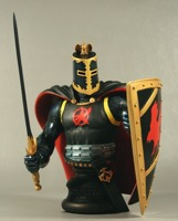 Black Knight Bust - Primary