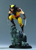 Bowen Designs Wolverine Brown Painted Statue - Primary