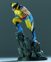Bowen Designs Wolverine Yellow Painted Statue - Primary