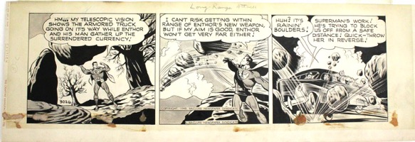 Superman Daily Strip - Primary
