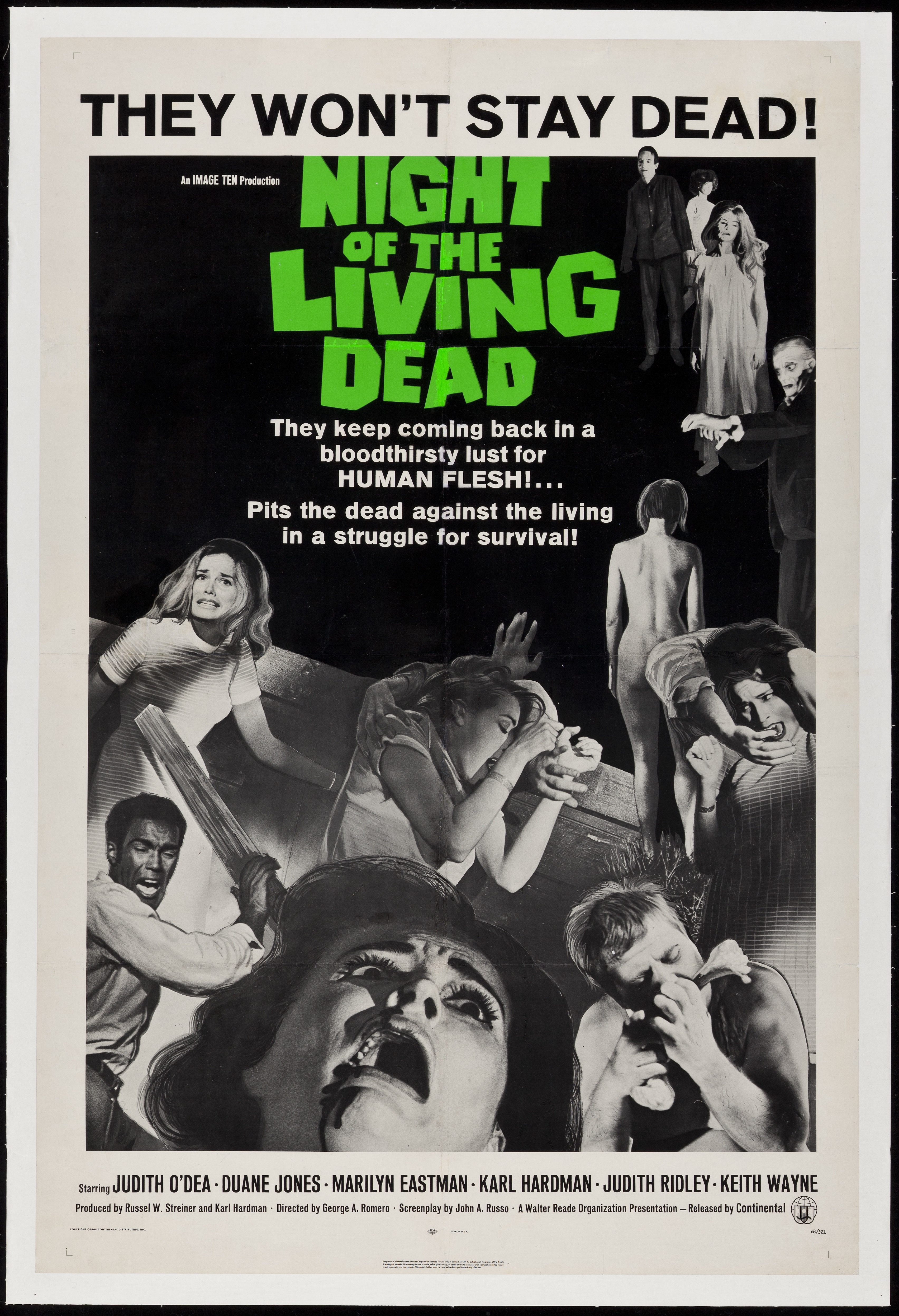 Night Of The Living Dead 1968 - Primary