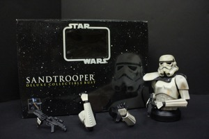 Star Wars Sandtrooper Deluxe Collectible Bust - Primary