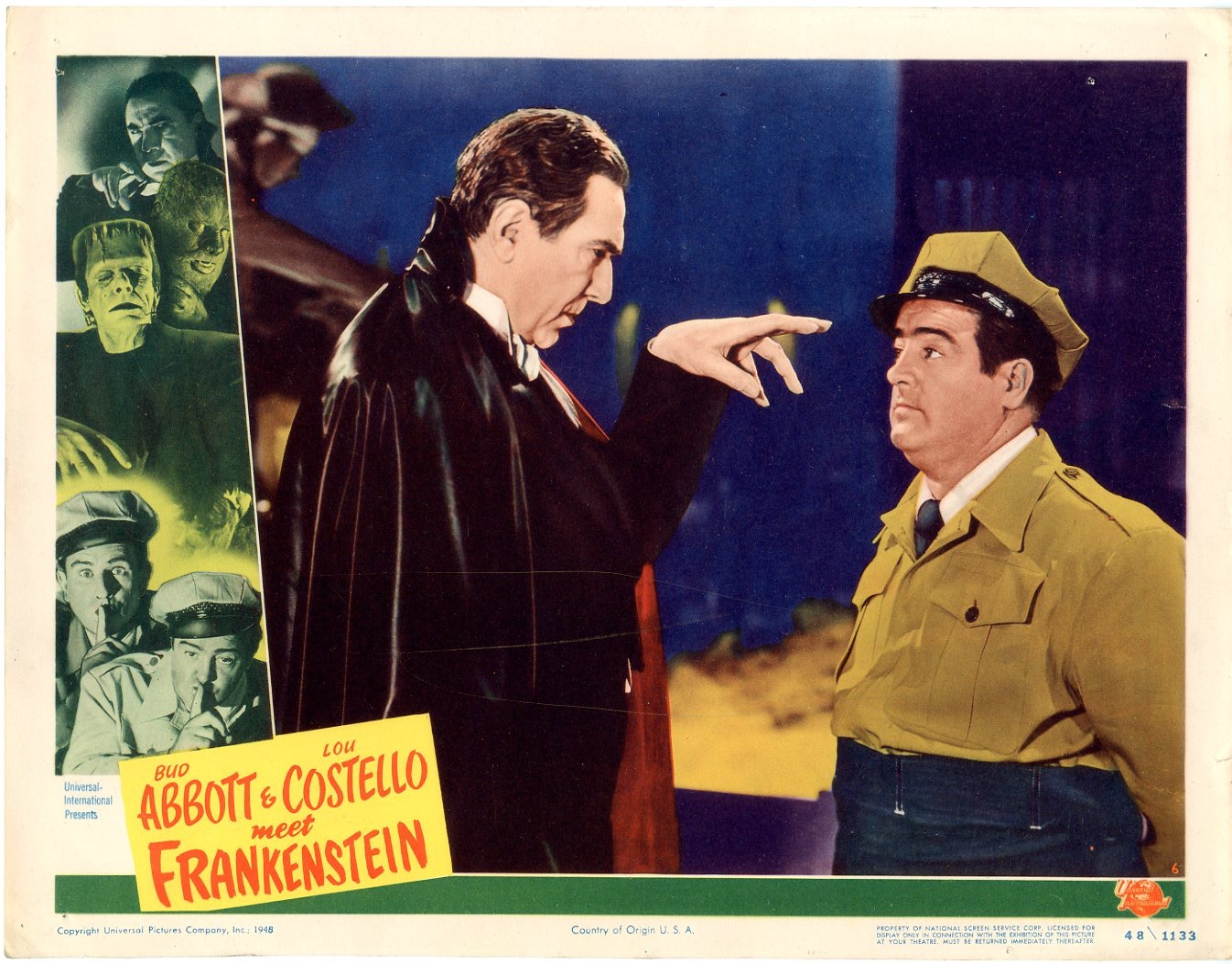 Abbott & Costello Meet Frankenstein 1948 - Primary