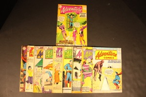 Adventure Comics    Lot Of 10 Books - Primary