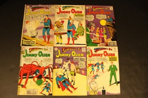 Jimmy Olsen        Lot O 6 Comics - Primary