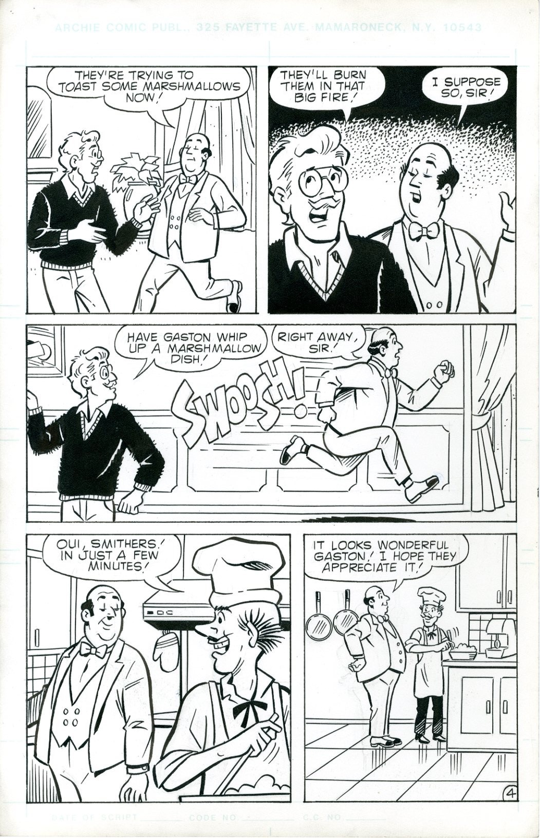 Archie Digest  6 Page Story - 3541