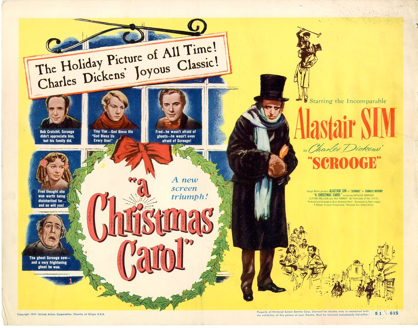 A Christmas Carol 1951 / Issue #1 | Sold Details | Four ...