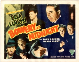 Bowery At Midnight 1942  - Primary