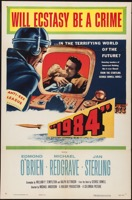 """1984""    One Sheet  First Released 1956 - Primary"