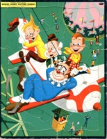 Howdy Doody Picture Puzzle - Primary