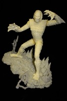 Creature From The Black Lagoon Resin Model Kit Unassembled - Primary