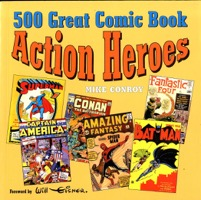 500 Great Comic Book Action Heroes - Primary