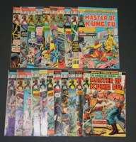 Master Of Kung-fu    Lot Of Books  #17 To 125 - Primary