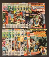 Howard The Duck  Lot Of 33 Books - Primary