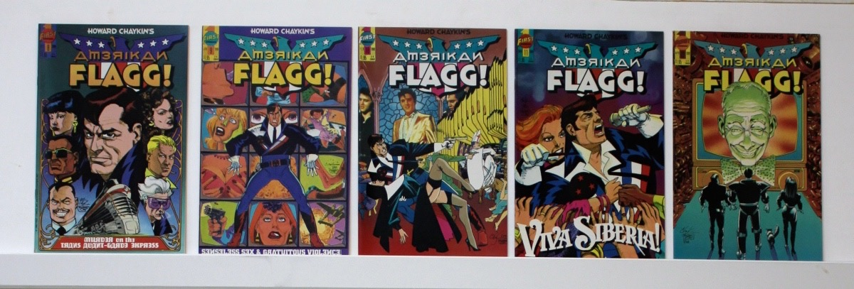 American Flagg     Lot Of 53 Comics  - 14066