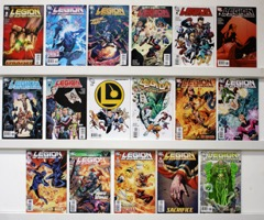 Legion Of Super-heroes Lot Of 17 Comics  - Primary