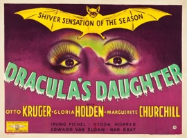 Dracula's Daughter 1950's - Primary
