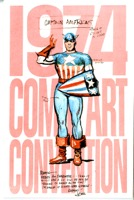 1974 Comic Art Convention Program Ny - Primary