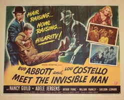 Abbott & Costello Meet The Invisible Man - Primary