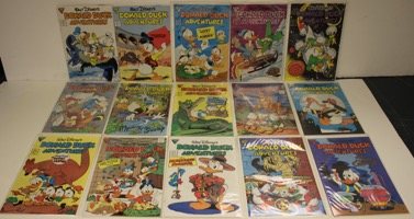 Walt Disney's Donald Duck Adventues   Lot Of 47 Books - Primary