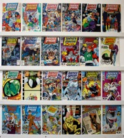 Justice League Of Europe   Lot Of 53 Comics - Primary